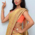 Sexy saree Sruthi Mol nude hip