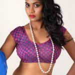 Priyanka Augustin nude navel deep close up hot blouse naked
