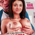 Hot nipple Kajal Aggarwal Big Boobs Pressed without bra