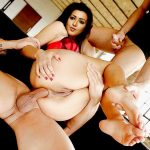 Catherine Tresa anal sex threesome fuck naked round ass fucked