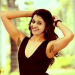 Priya Bhavani Shankar forgot to shaved her hairy armpit wearing low neck sleeveless top