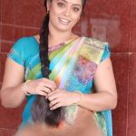 Devi Priya hairy pussy in saree south actress image