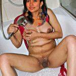 Sai Pallavi shower her nipple in bathtub naked body bathing in bathroom