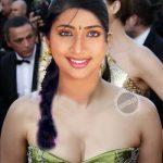 Navya Nair low neck cleavage photo small boobs young actress