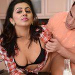 Telugu producer removing Nikki Galrani shirt in audition black bra exposed