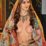 Kriti Sanon small boobs open blouse without bra xxx images