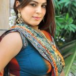 Shraddha Arya sexy blouse xxx saree hindi tv actress fake