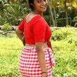 Big ass Namitha Pramod naked butt topless blouse