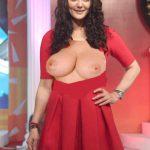 Naked breast without bra Preity Zinta nude milky boobs sexy nipple