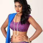 Priyanka Augustin nude hot blouse tight push bra naked navel