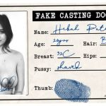 Hebah Patel fake casting document id card picture