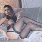 Sexy nipple Remya Nambeesan nude ass in black stockings
