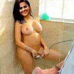 Shraddha Srinath full nude bathroom photo watering her pussy