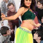 Anasuya Bharadwaj naked belly deep navel in hot blouse