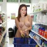 Munmun Dutta sexy boobs naked shopping without dress full nude in super market