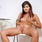 Mahiya Mahi fingering her pussy pressing boobs fake photo