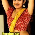 Keerthy Suresh sexy blouse hot nude navel