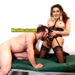 Film producer sucking Meera Mitun nude cock shemale blowjob xxx image