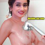 Anchor vindhya shower her nude boobs nipple photo
