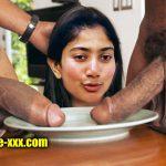 Actress Sai Pallavi face forced for double blowjob photo