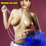 Hot Sanjana Sanghi topless juicy boobs nude photo no bra