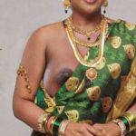 Sexy old actress Roja black nipple slip xxx saree image